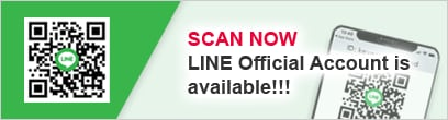 SCAN NOW LINE Official Account is available!!!