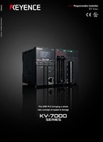 KV-7000 Series Programmable Logic Controller Catalogue